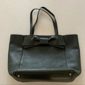 Kate Spade ♠️ Olive Drive Savannah Tote in Loden
